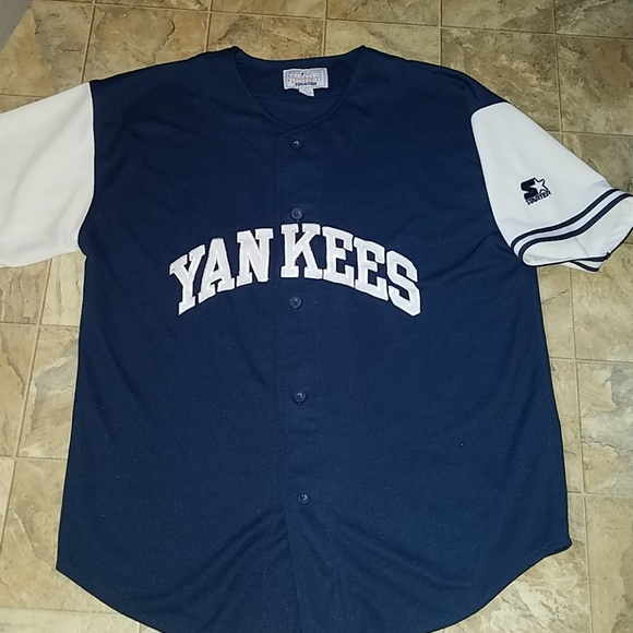 6b33bb6b3 Mens NY Yankees Starter Jersey